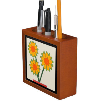 Loveable Sunflowers Desk Organizer