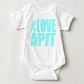 #LOVEAPIT Baby Blue Creeper- OTHER COLORS AVAIL Baby Bodysuit