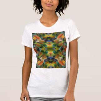 Lovebird feather kaleidoscope T-Shirt