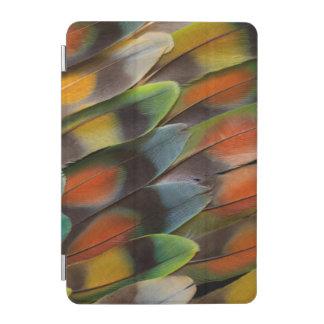 Lovebird Feather Pattern iPad Mini Cover