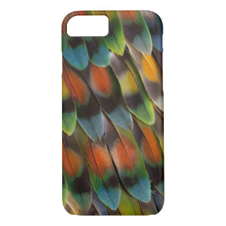 Lovebird Feather Pattern iPhone 8/7 Case