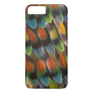 Lovebird Feather Pattern iPhone 8 Plus/7 Plus Case