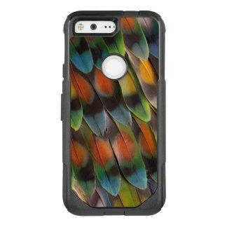 Lovebird Feather Pattern OtterBox Commuter Google Pixel Case