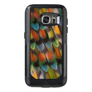 Lovebird Feather Pattern OtterBox Samsung Galaxy S7 Case