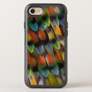 Lovebird Feather Pattern OtterBox Symmetry iPhone 8/7 Case