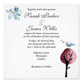 Lovebird Invitation
