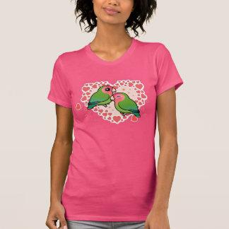 Lovebird Love Heart T-Shirt