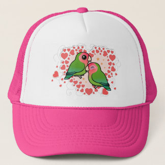 Lovebird Love Heart Trucker Hat