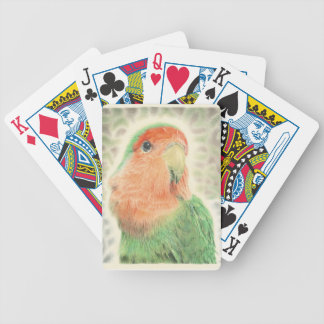 Lovebird Pilaf Bicycle Playing Cards