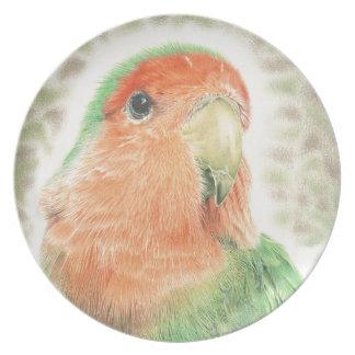 Lovebird Pilaf Plate