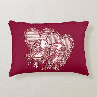 Lovebirds Accent Pillow