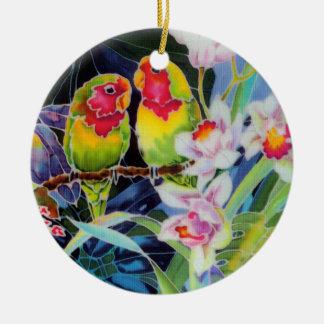 Lovebirds Christmas Tree Ornament Gift