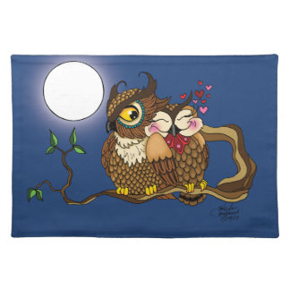 Lovebirds Placemat