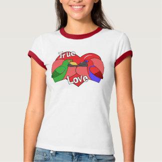Lovebirds Solomon Island Eclectus Apparel T-Shirt