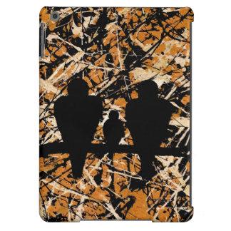 LOVEBIRDS THREE S COMPANY bird design iPad Air Cover
