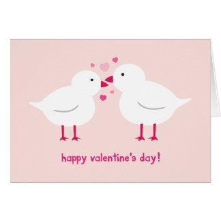 Lovebirds Valentine's Card