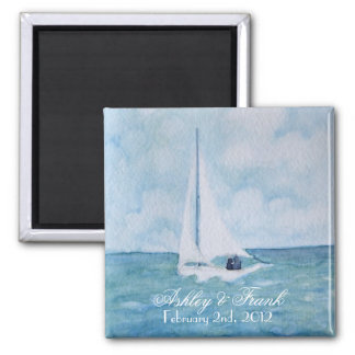 Loveboat Save-the-Date magnet