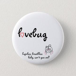 lovebug 2 inch round button