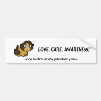 lovecareawareness bumper sticker