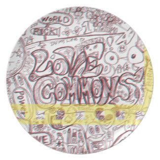 LOVECOMMONS plate