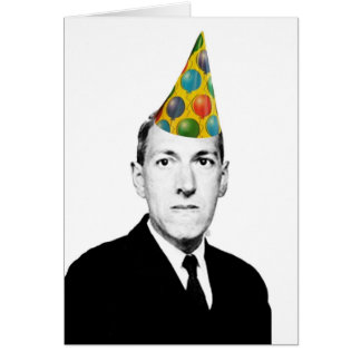 Lovecraft Birthday Card
