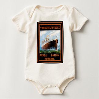Lovecraft Cruise Lines: Arkham Baby Bodysuit