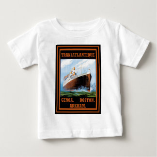 Lovecraft Cruise Lines: Arkham Baby T-Shirt
