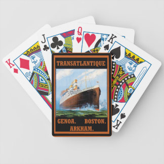 Lovecraft Cruise Lines: Arkham Bicycle Playing Cards