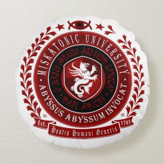 Lovecraft Pillow - Miskatonic Crest Logo
