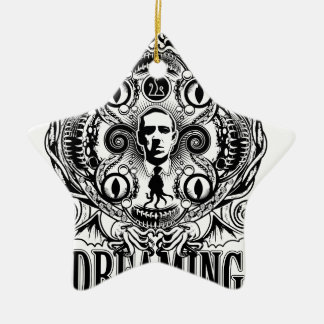 Lovecraftian Dreams Ceramic Ornament