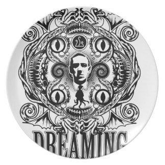 Lovecraftian Dreams Plate