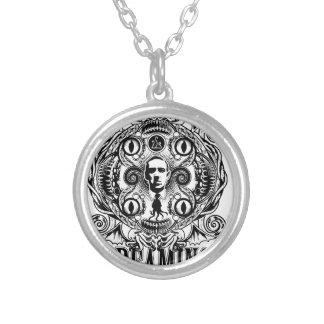 Lovecraftian Dreams Silver Plated Necklace