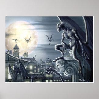 Lovecraft's Nightgaunt Hunt Poster