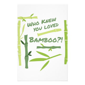 Loved Bamboo Stationery