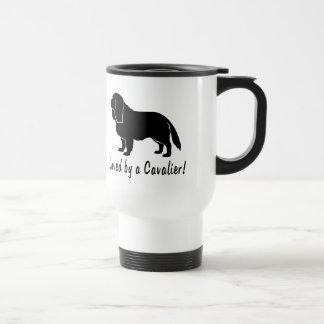 Loved by a Cavalier! Travel Mug