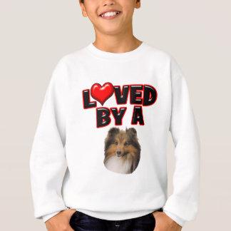 Loved by a Sheltie Sweatshirt