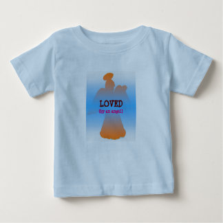 Loved by an angel: kid's shirt