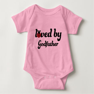 Loved By Godfather Gift Baby Bodysuit