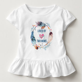 Loved By Two Moms Bohemian Ruffle Shirt