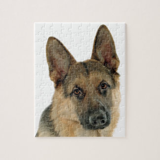 Loved & Protected by a German Shepherd Jigsaw Puzzle