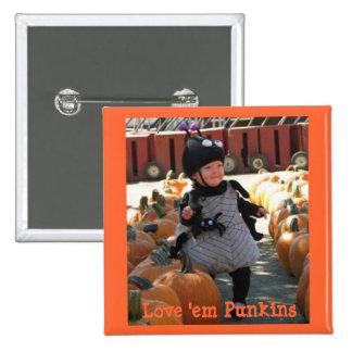loveempumpkins, Love 'em Punkins, Love 'em Punkins Button