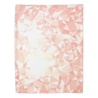 LoveGeo Abstract Geometric Design - Amaranth GD Duvet Cover
