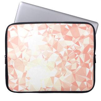 LoveGeo Abstract Geometric Design - Amaranth GD Laptop Sleeve