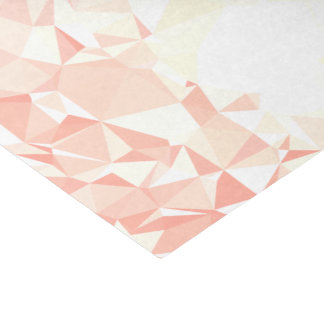 LoveGeo Abstract Geometric Design - Amaranth GD Tissue Paper