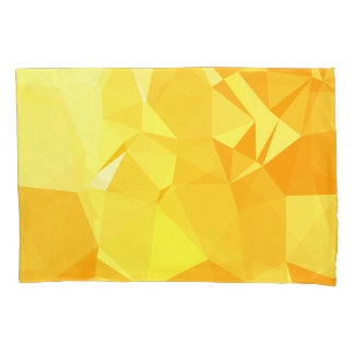 LoveGeo Abstract Geometric Design - Beehive Sunset Pillowcase