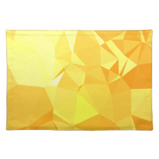 LoveGeo Abstract Geometric Design - Beehive Sunset Placemat