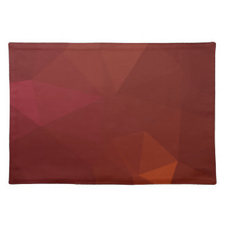 LoveGeo Abstract Geometric Design - Carmine Road Placemat