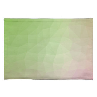 LoveGeo Abstract Geometric Design - Carnation Youn Placemat