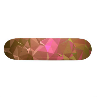 LoveGeo Abstract Geometric Design - Choco Cherry Skateboard Deck