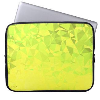 LoveGeo Abstract Geometric Design - Clover Fields Laptop Sleeve